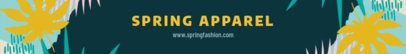 Spring Etsy Banner Maker for an Apparel Shop 1119b