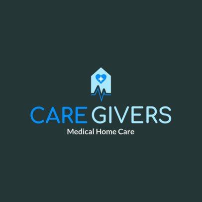 Logo Maker for a Home Health Care Logo 1805a