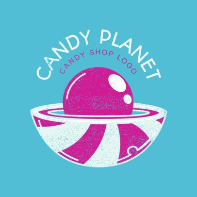 Online Logo Maker for Candy Planet Store 1391a