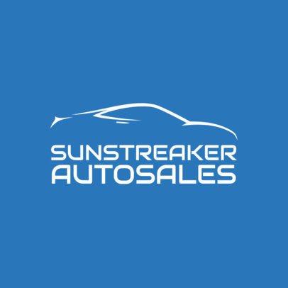 Logo Maker for Auto Sales 1406d