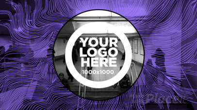 Logo Animation Video Maker with Psychedelic Motion Graphics 444b 1426
