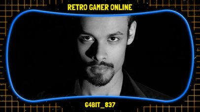 OBS Overlay Maker with Retro Frame 1205c