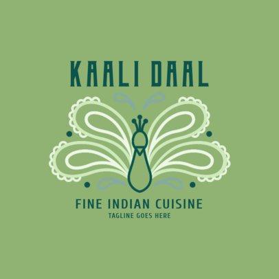 Fine Indian Cuisine Logo Maker 1829d