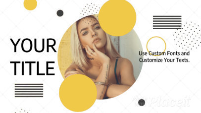 Facebook Cover Video Maker with Geometric Animations 1220