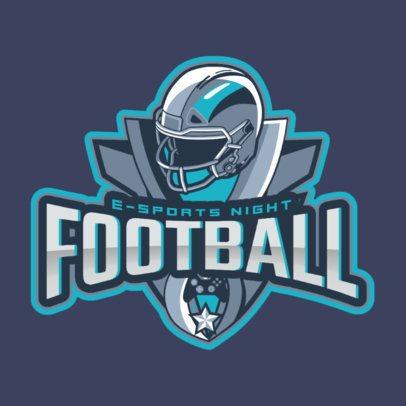 eSports Logo Maker for a Football Video Game 1748a