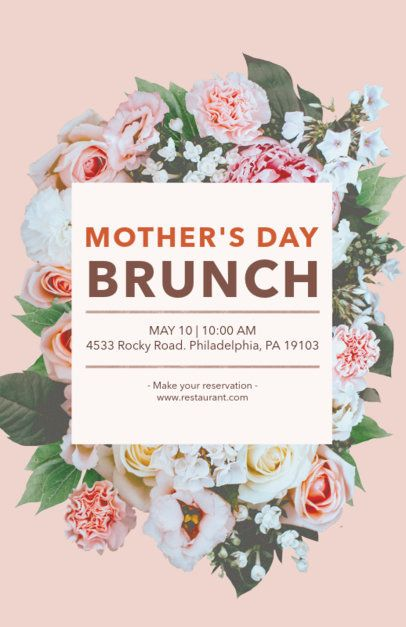 Online Flyer Maker for a Mother's Day Event 434f