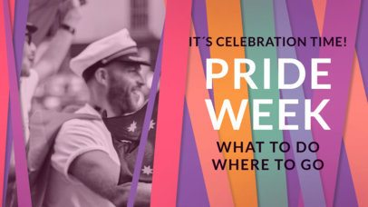 LGBTQ Pride Youtube Banner Thumbnail Maker 1299