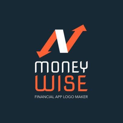 Logo Maker for a Mobile Financial App 1141f