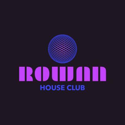 House Club Logo Maker 1681b