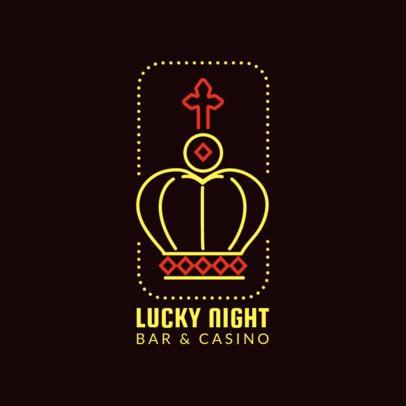Casino Bar Logo Maker 1680e