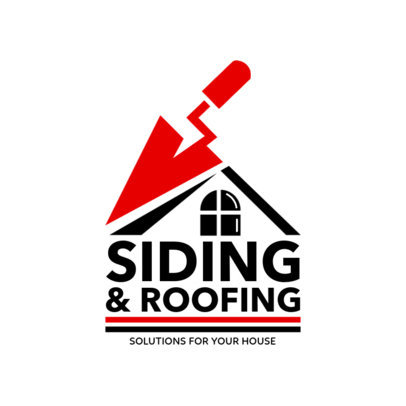 Siding and Roofing Logo Maker 1480b