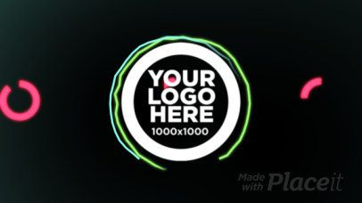 Simple Intro Maker for an Animated Logo Reveal with Glitch Animations 1502