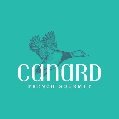 Logo Template for French Brasserie 1219e
