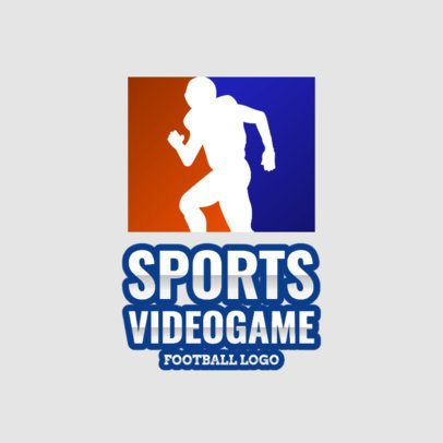 eSports Logo Maker for American Football Games 1874f