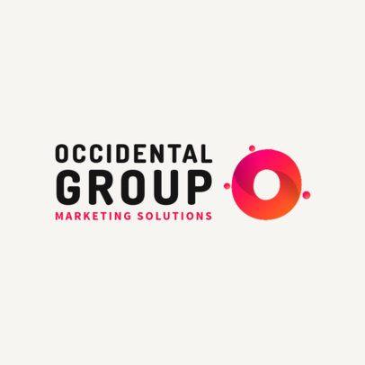 Modern Logo Maker for a Marketing Agency 2227a