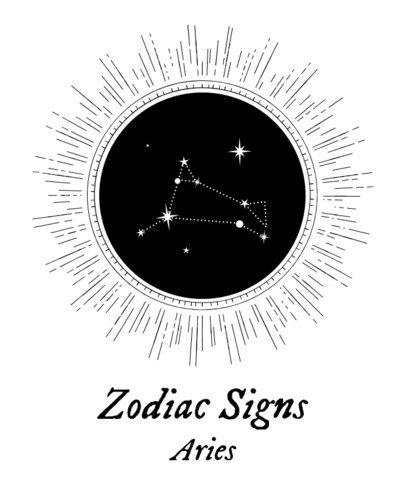T-Shirt Design Maker with Zodiac Sign Constellations 1426