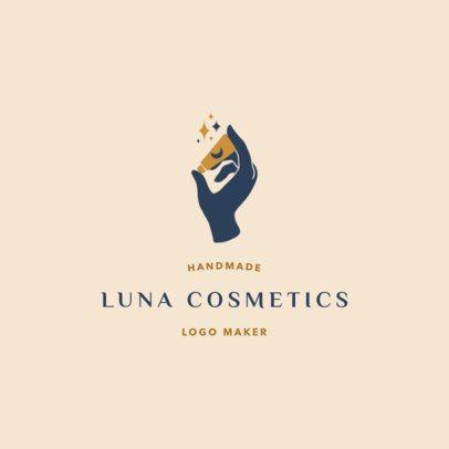 Trendy Logo Generator for a Handmade Cosmetics Brand 2213c