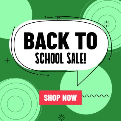 Back to School Banner Templates 548h