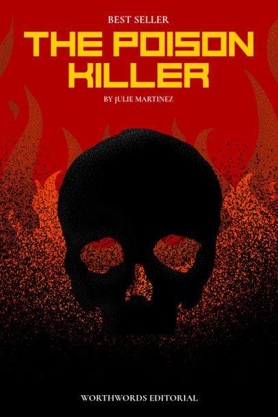 Book Cover Maker for a Horror Novel 527b