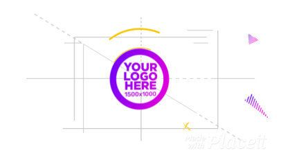 Logo Reveal Video Maker with Animated Geometric Shapes 1637