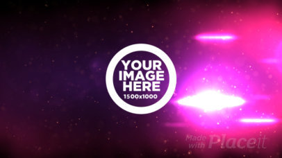 Logo Reveal Video Maker with a Colorful Nebula 1644
