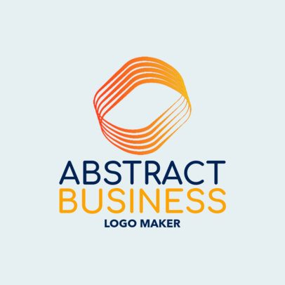 Logo Generator for a HR Company Featuring an Abstract Shape 1519j-2343
