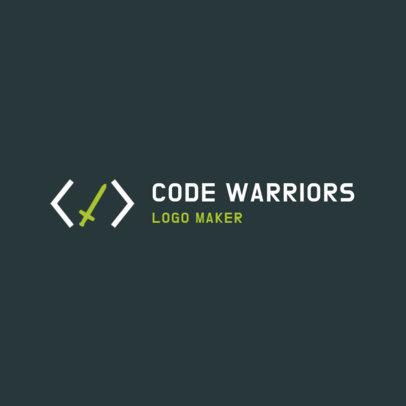 Logo Maker for Software Developers 2373g