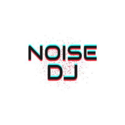 Minimalist DJ Logo Maker with Glitchy Dots 2350c