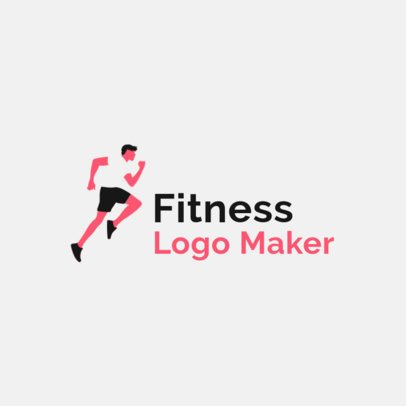 Logo Design Template for a Fitness Center 2456