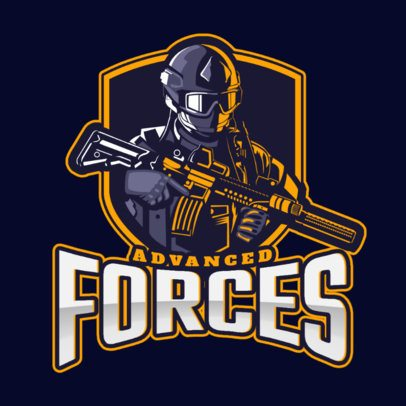 Gaming Logo Creator for a Special Forces Themed Game 2449w
