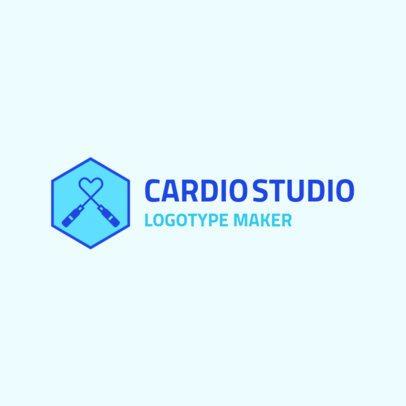 Fitness Logo Maker for a Cardio Studio 2458d