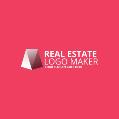 Abstract Logo Template for Real Estate Agents 969f-2463