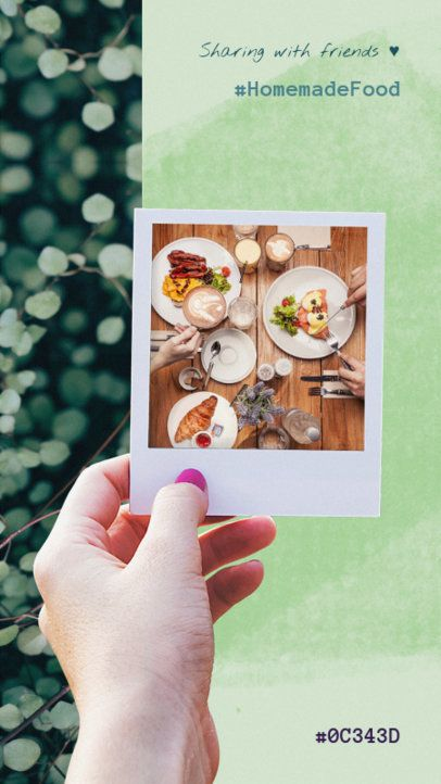 Insta Story Maker with Food Graphics 945a--1762