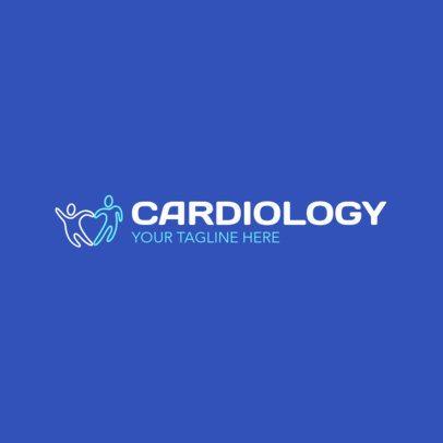 Cardiology Center Logo Maker 2509a