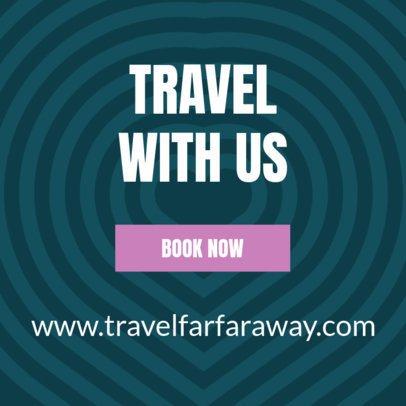 Minimalistic Banner Maker for Travel Agencies d16640