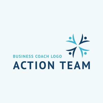 Abstract Logo Maker for Business Coaching 2552b