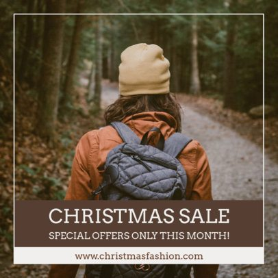 Instagram Post Maker for a Special Christmas Sale 1102g 1833