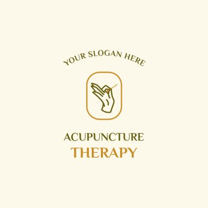 Traditional Medicine Logo Generator for Acupuncturists 2580d