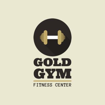 Fitness Center Logo Generator 1347h 47-el