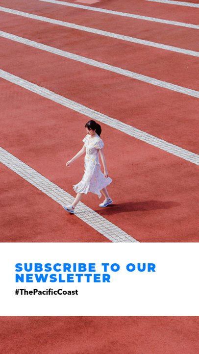 Minimalistic Instagram Story Maker with a Subscription Invitation 969l 1882