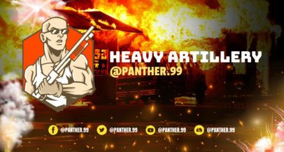 Online Twitch Banner Maker for Free Fire Gamers 1983b