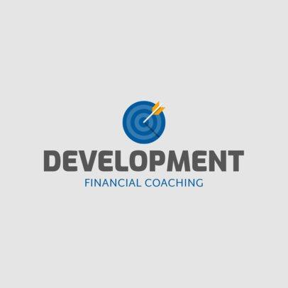 Online Logo Generator for Financial Coaching Services 2551j 75-el