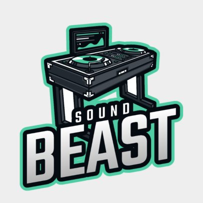 Logo Maker for DJs Featuring a Turntable Clipart 2661m-2694