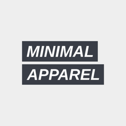 Clothing Brand Logo Generator for Streetwear Apparel 2721d