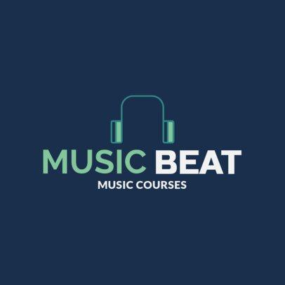 Logo Maker for a Modern Music School 1308h-160-el
