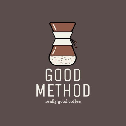 Logo Maker for a Coffee Brand 956g-158-el