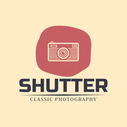 Photography Logo Maker with a Classic Style 1439g-103-el