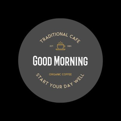 Logo Maker for a Traditional Coffee Shop 949h-158-el
