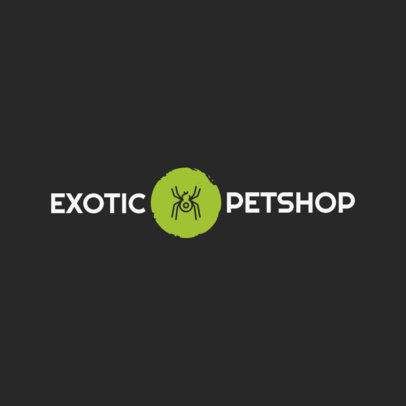 Online Logo Maker for an Exotic Pet Shop 1161i-178-el