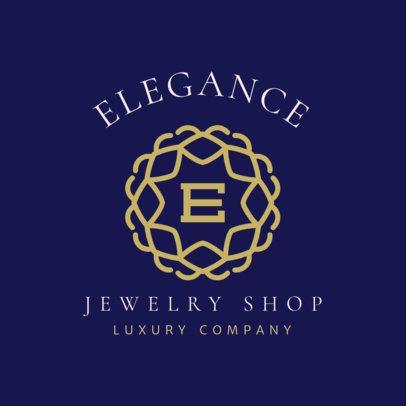 Elegant Logo Template for a Luxury Jewelry Shop 2189h 156-el